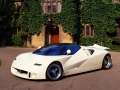 White Ford GT 90 Prototype Car
