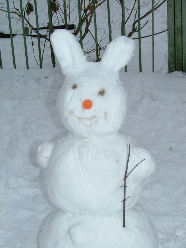 Как сделать снежную игрушку