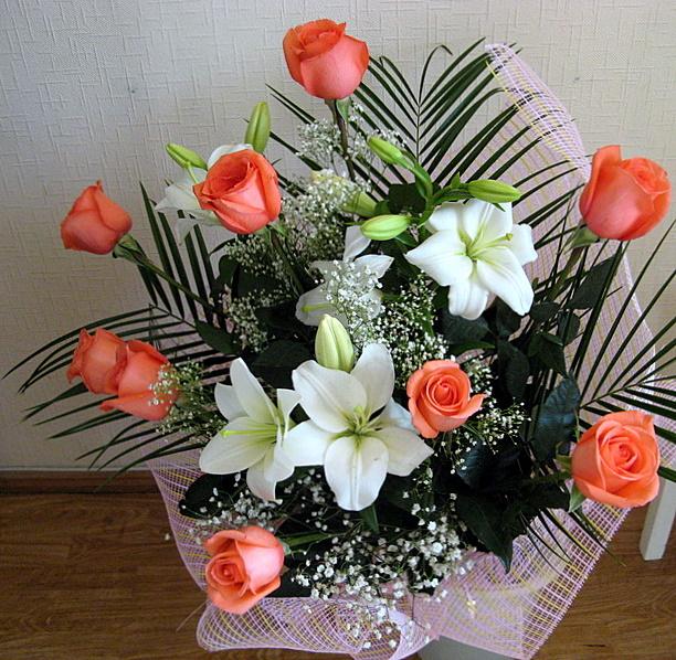 Фото букеты цветов реальные