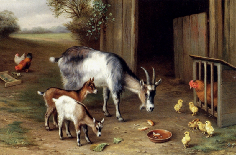 Hunt_Edgar_Goats_And_Poultry
