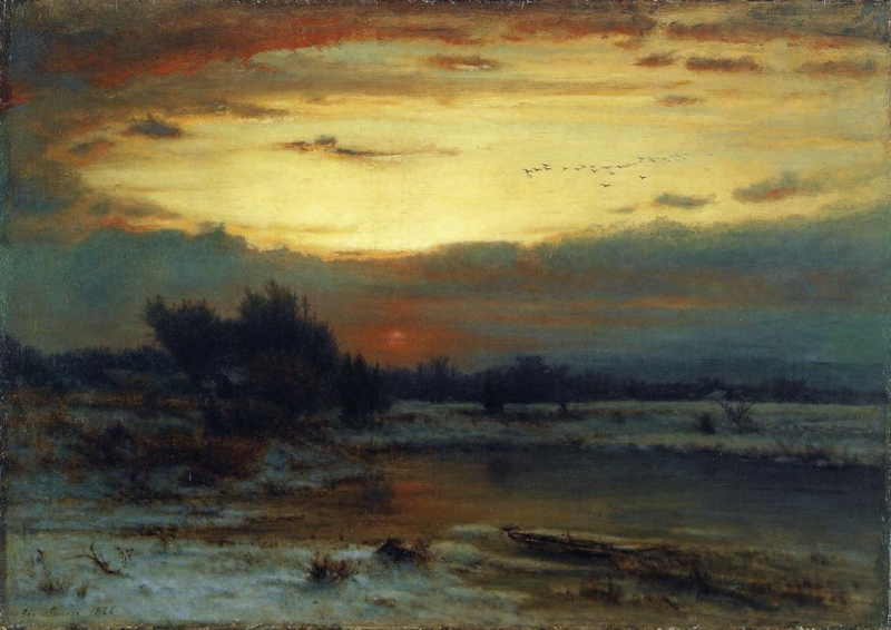 Winter, Close of Day (also known as A Winter Day)
