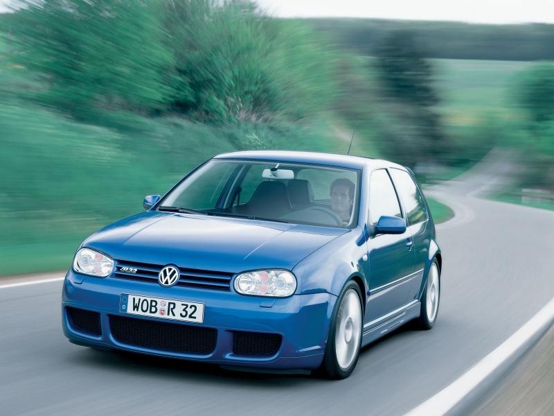 Volkswagen golf r32 - 2005