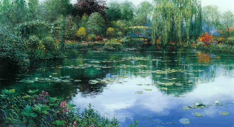 GivernyPond-EarlySummer-1985