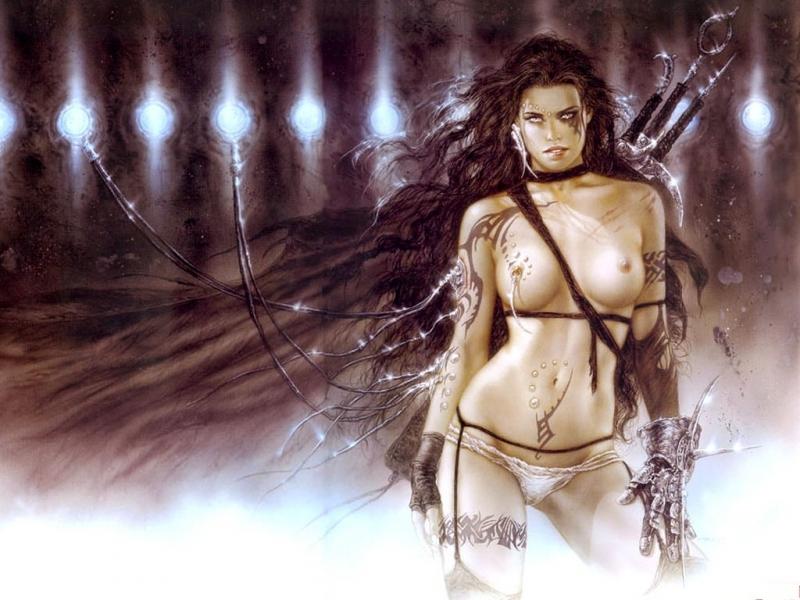 фэнтези голые девушки картинки