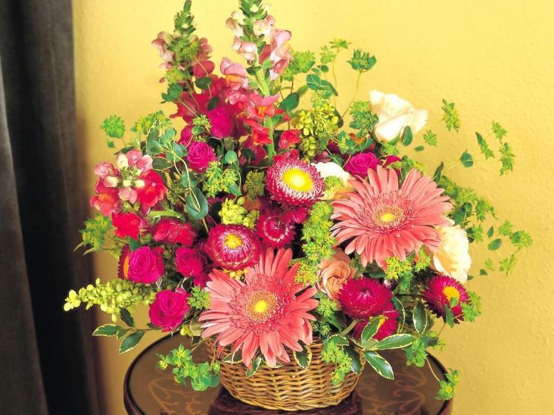 Фото красивой композиции цветов