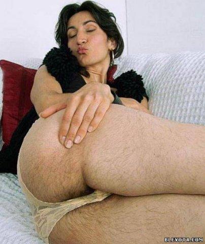 фото видео женщины с волосатой грудью