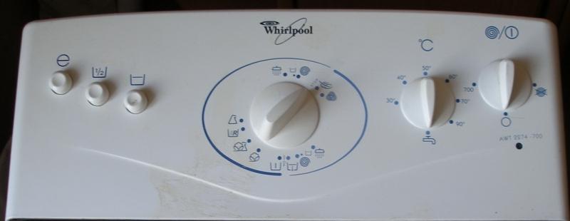 Ремонт стиральных машин whirlpool вертикальной загрузки