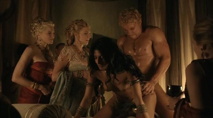 смотреть порно сцены спартак