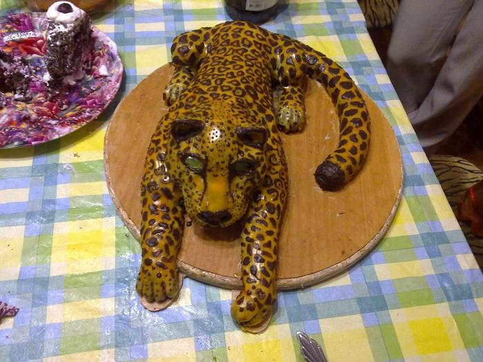 Торт леопард фото
