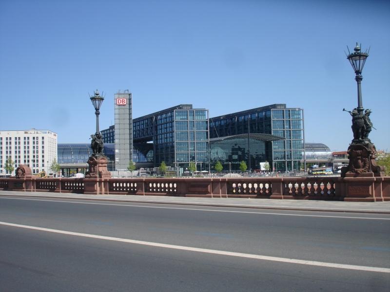 Центральный вокзал Берлина Hauptbahnhof