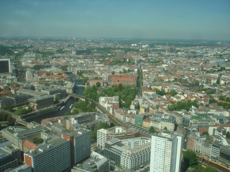 Вид на Берлин с высоты