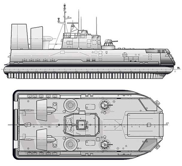 проект лодки мурена