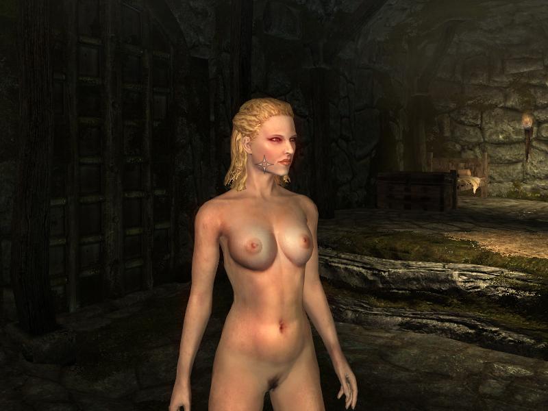 скайрим голые женщины-хк2