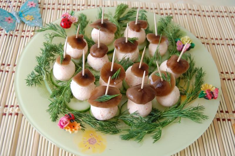 Закуски на день рождения рецепт пошаговый