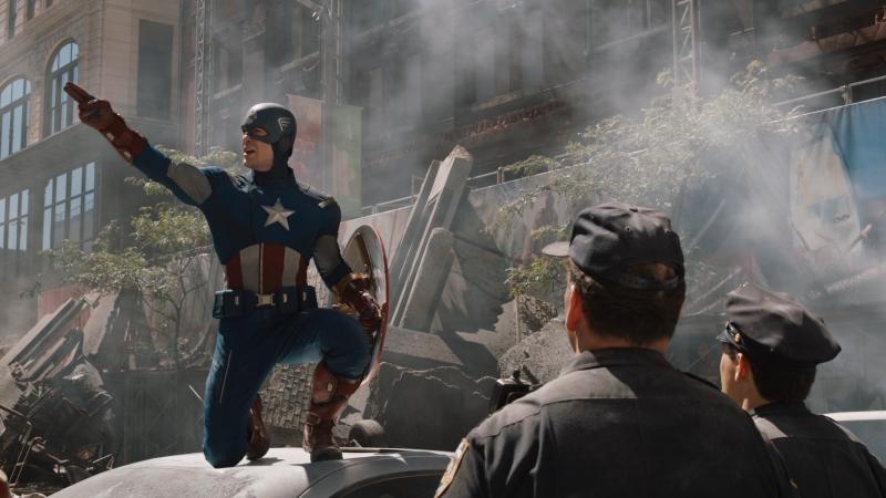 Капитан Америка любит командовать