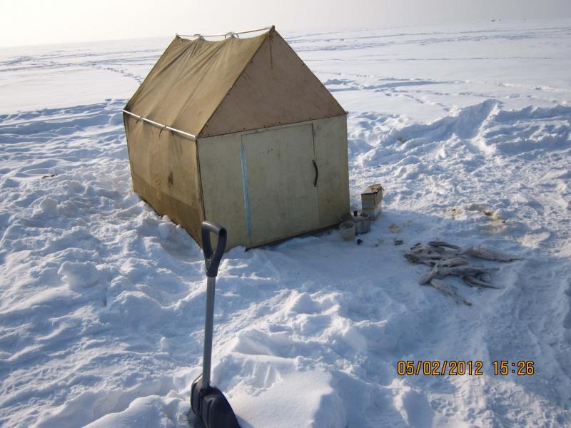Палатка для зимней рыбалки из фанеры своими руками 42