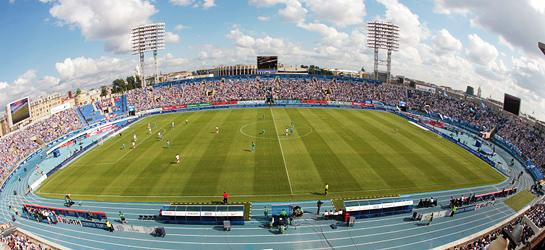 Стадион петровский схема