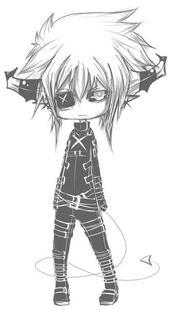картинки аниме скай: