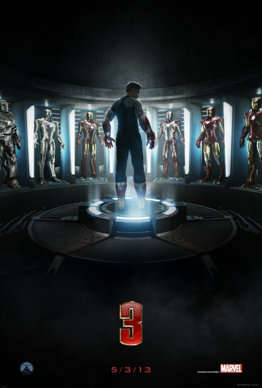 """Постер к фильму """"Железный человек 3"""""""