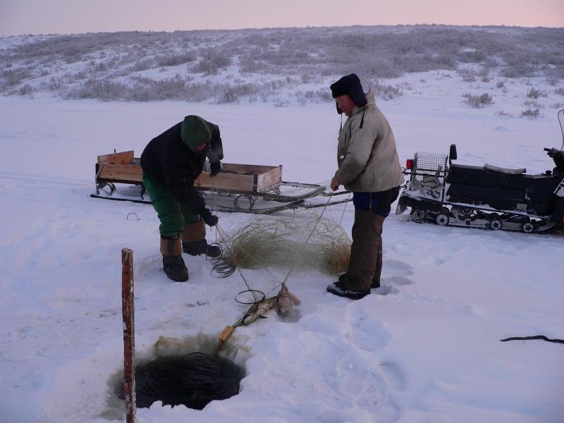 видео рыбалка крайней север