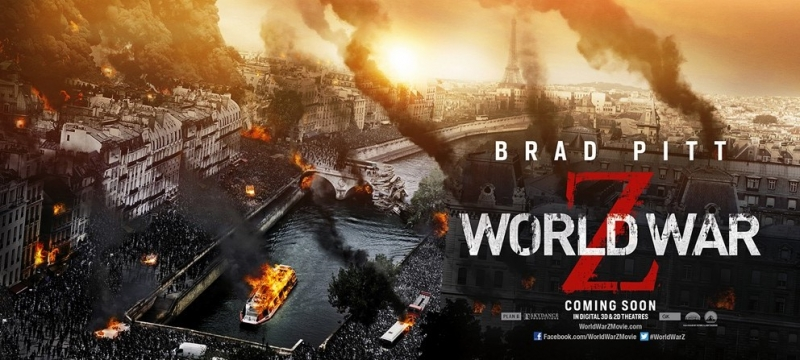 """Трейлер к фильму """"Война миров Z"""" (2013) - смотреть онлайн"""
