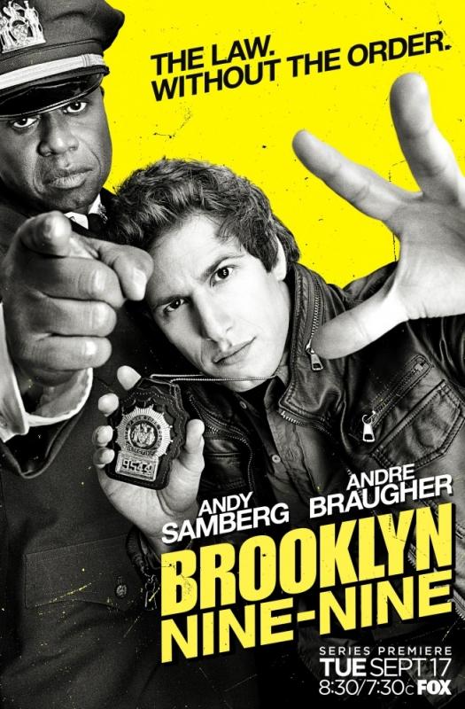 «Бруклин 9-9» (2013-...) - отзыв о сериале
