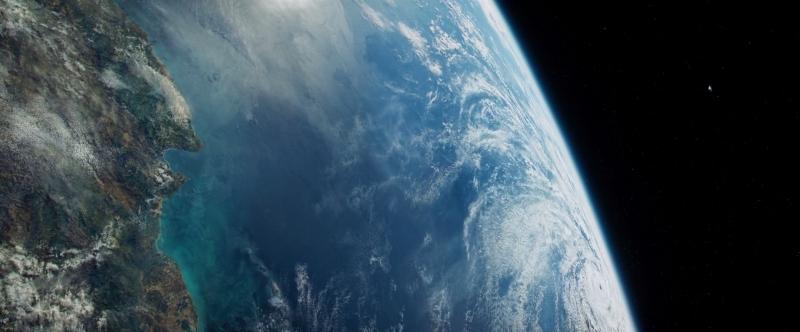 Бескрайняя космическая пустота