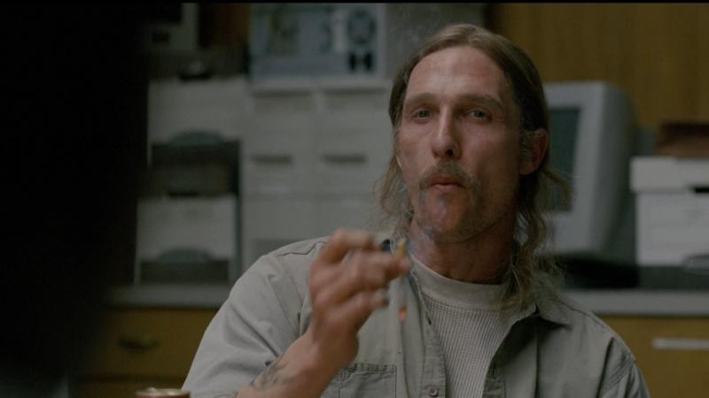 Настоящий детектив Мэттью МакКонахи