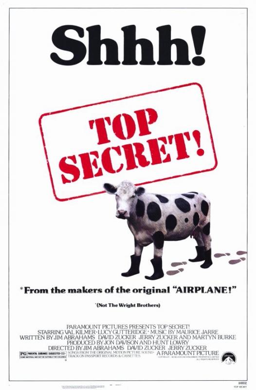 Совершенно секретно! / Top Secret! (1984)