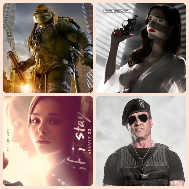 Главные кинопремьеры августа 2014