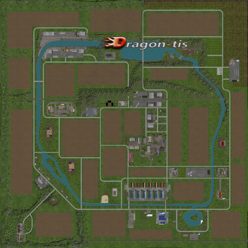 Скачать Карту Baxley Для Farming Simulator 2015 - фото 9