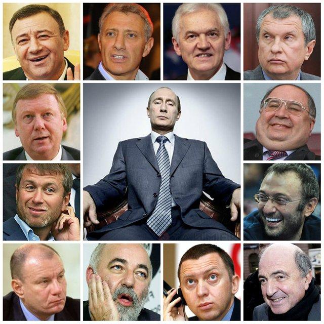 Гордись,быдлопутинец!  Семеро россиян вошли в первую сотню богатейших людей мира