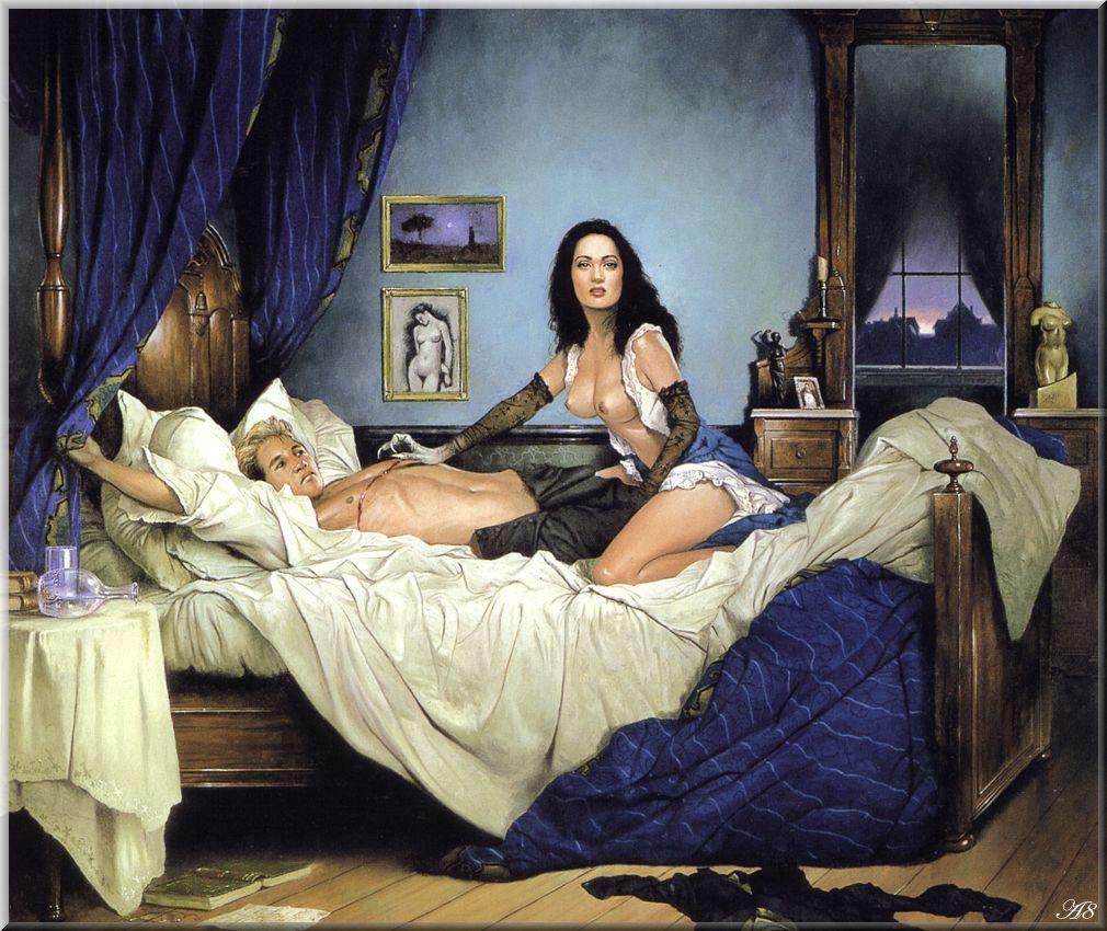 Секс в картинах средневековья 11 фотография