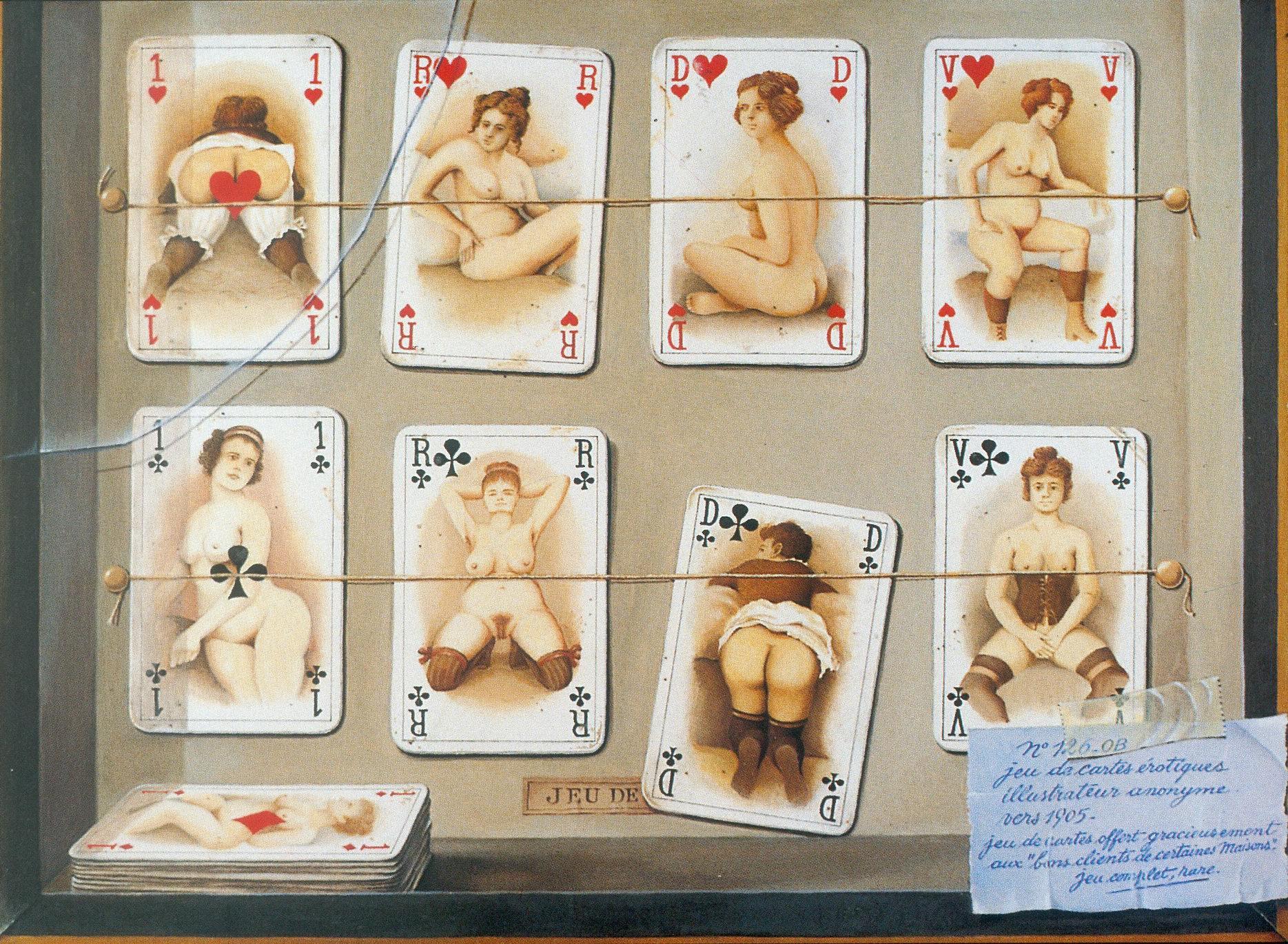 Черно белые ретро эротические игральные карты 27 фотография