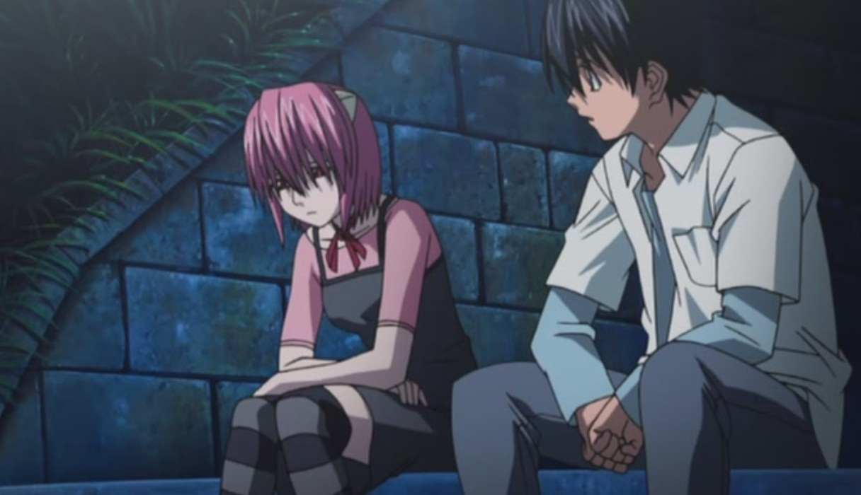 Elfen lied nudity scenes sex scene