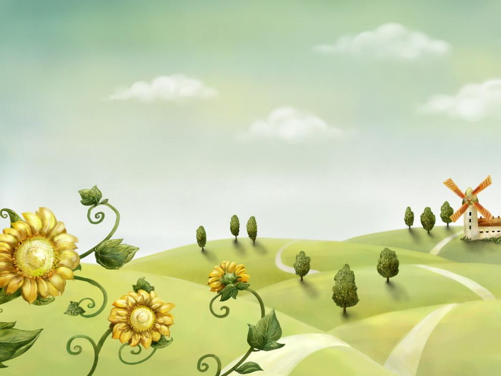 Обработка пейзажа