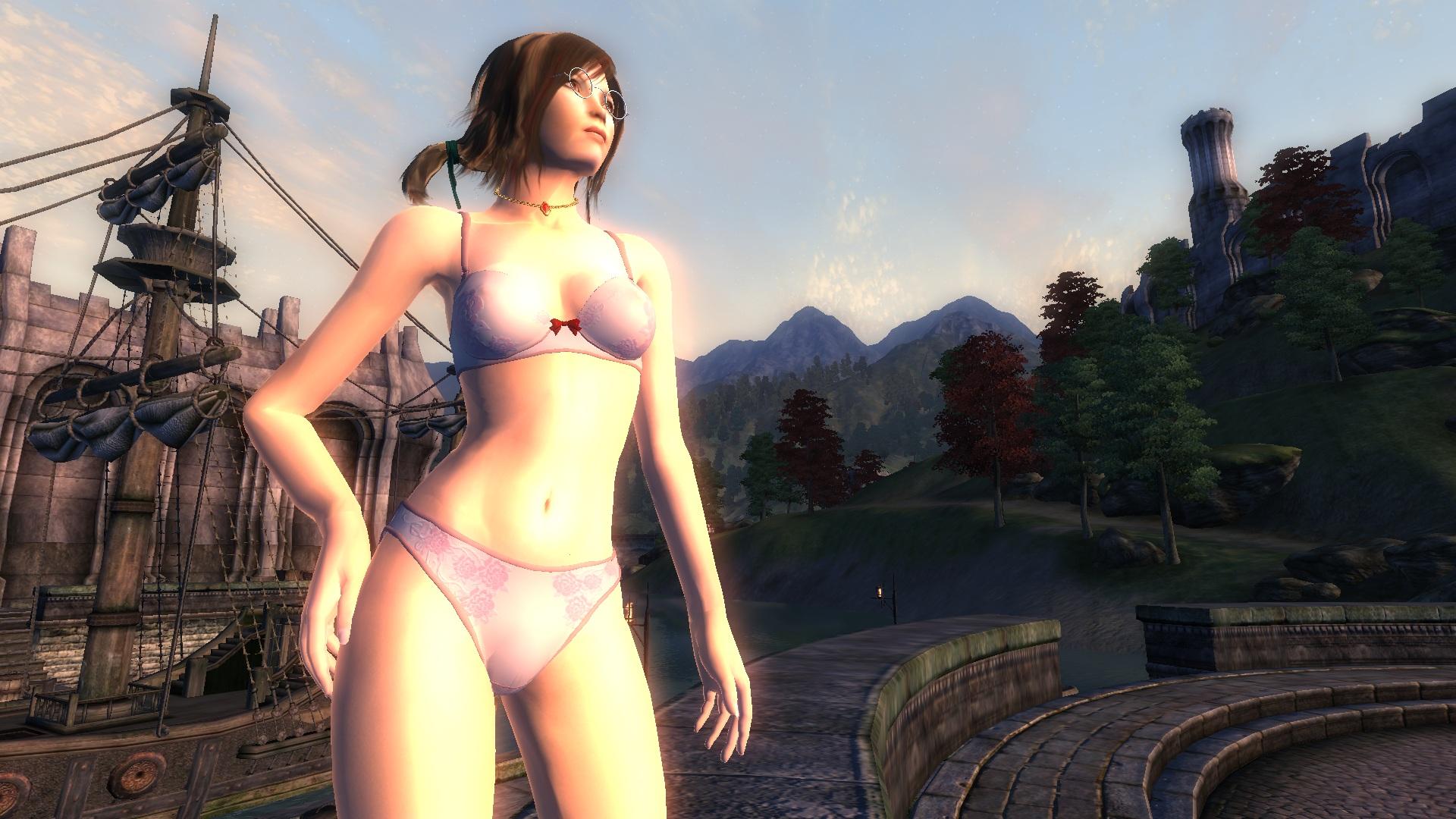 Oblivion nude fuck hentai video