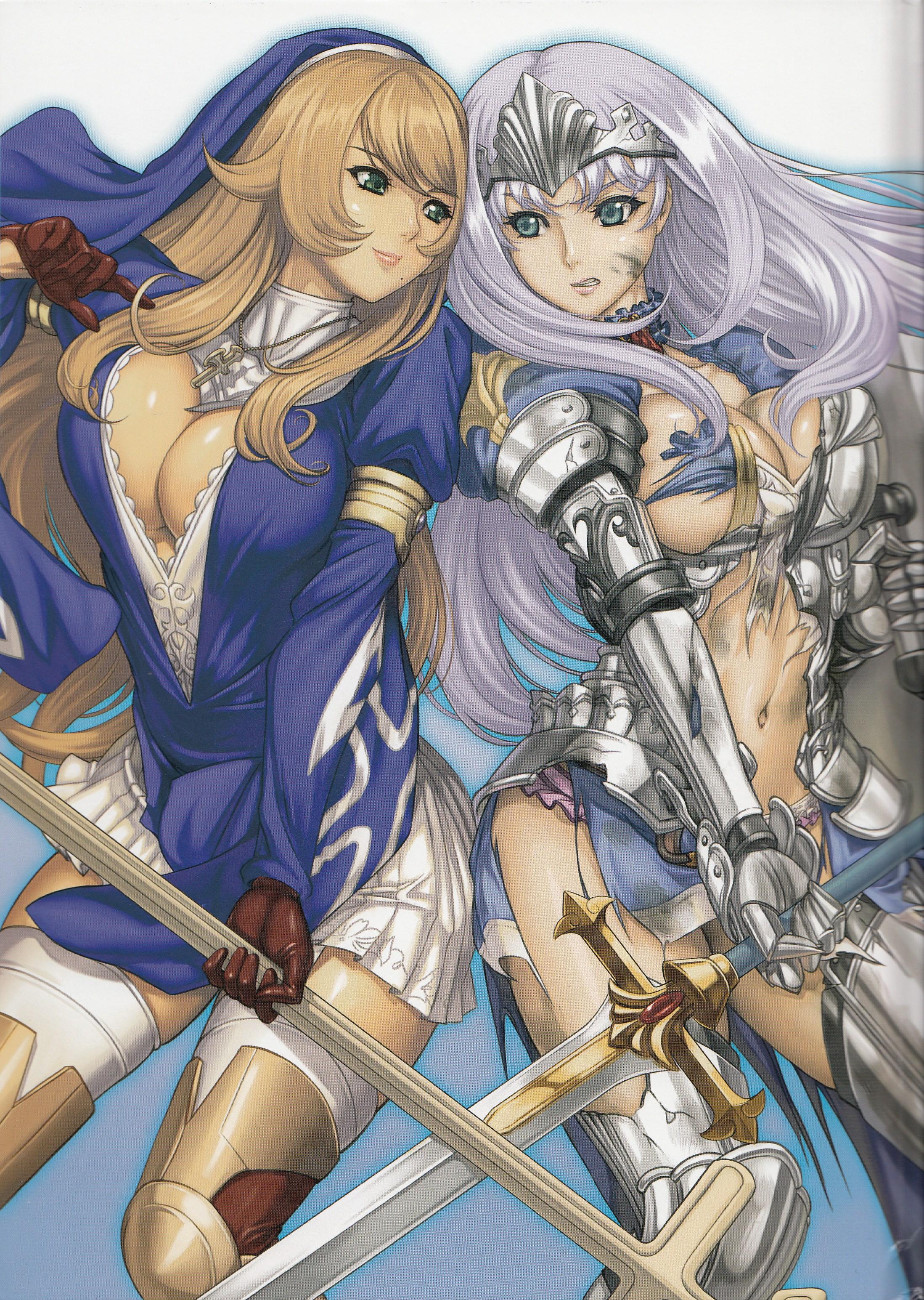 Клинок Королевы OVA-2 / Queen's Blade / ク イ-ン ズ ブ レ イ ド. Жанр. боевые
