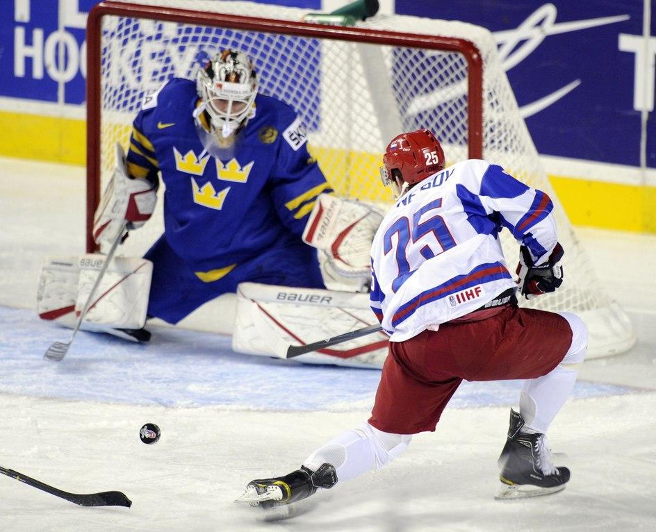 Шведские игры.  Россия уступила Швеции, Финляндия забросила Чехии семь...