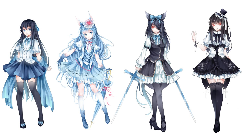 картинки платья аниме
