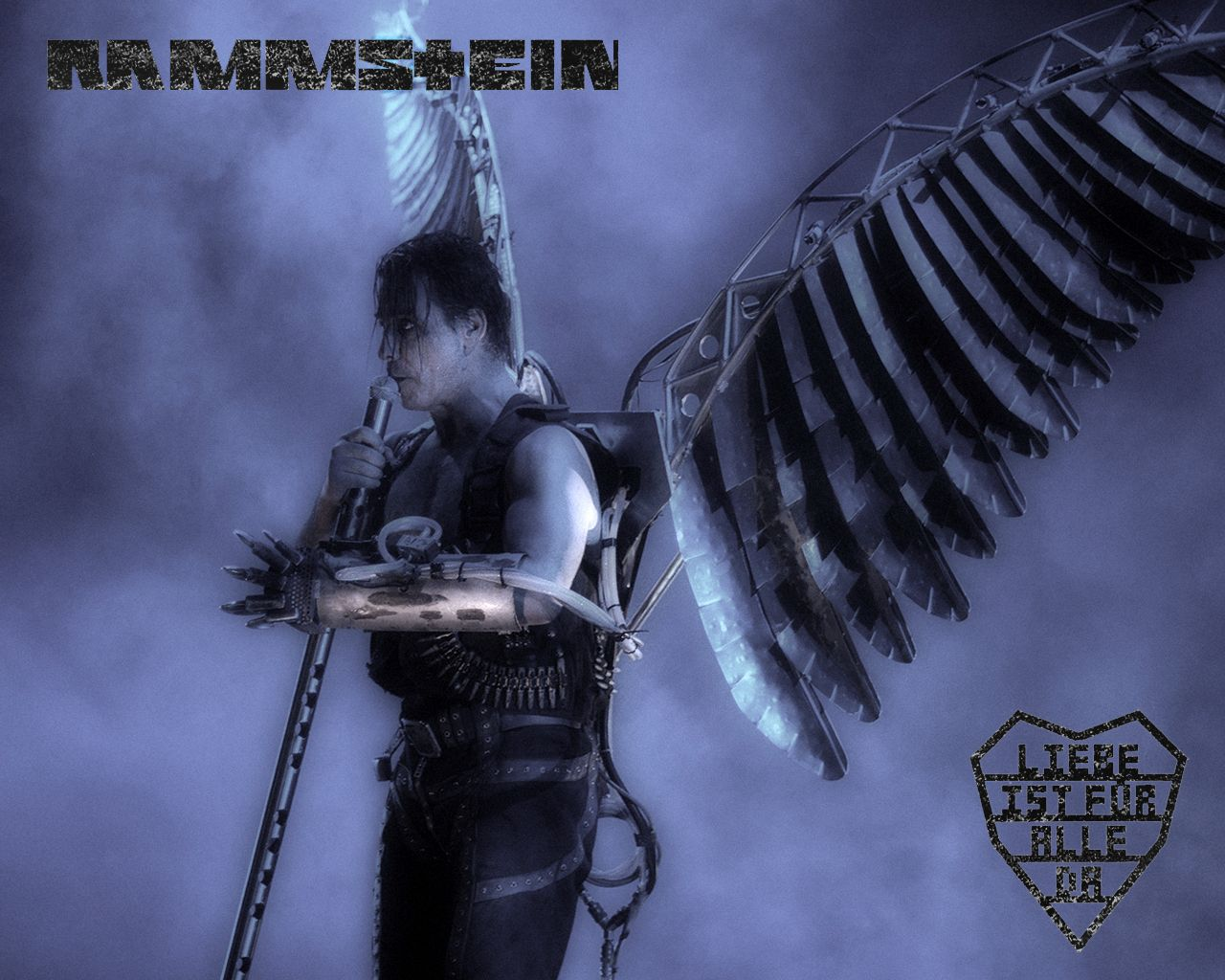 Rammstein Wallpapers - 1280x1024 на Sibnet