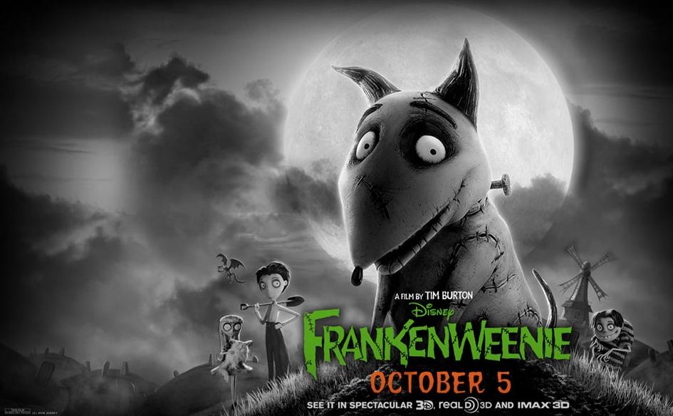 Трейлер к мультфильму «Франкенвини» 2012