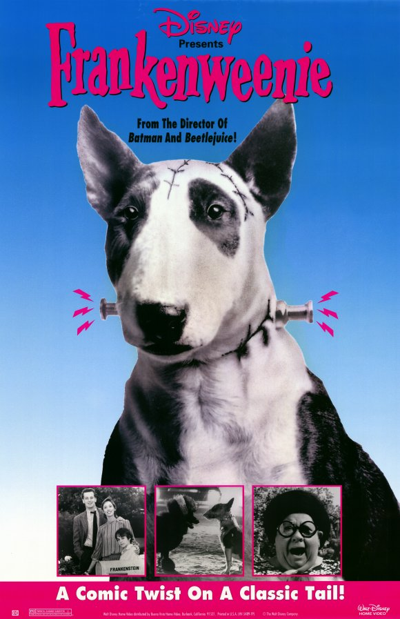 """Короткометражка """"Франкенвини / Frankenweenie"""" (1984). Отзыв"""