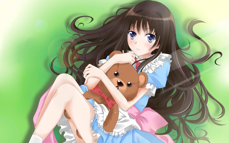 Фото девочек аниме 5 фотография