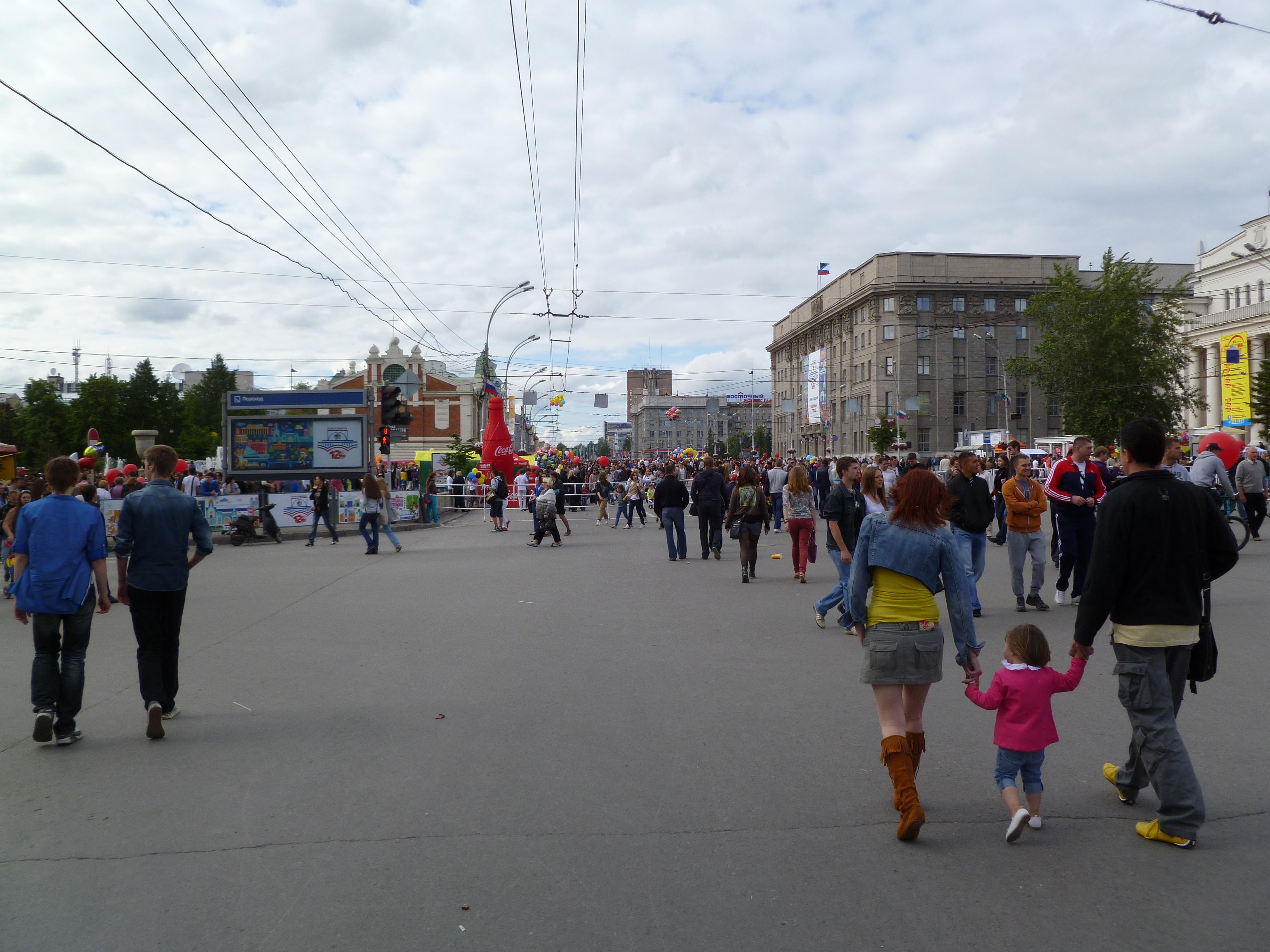 Фото новосибирска летом 2013 3