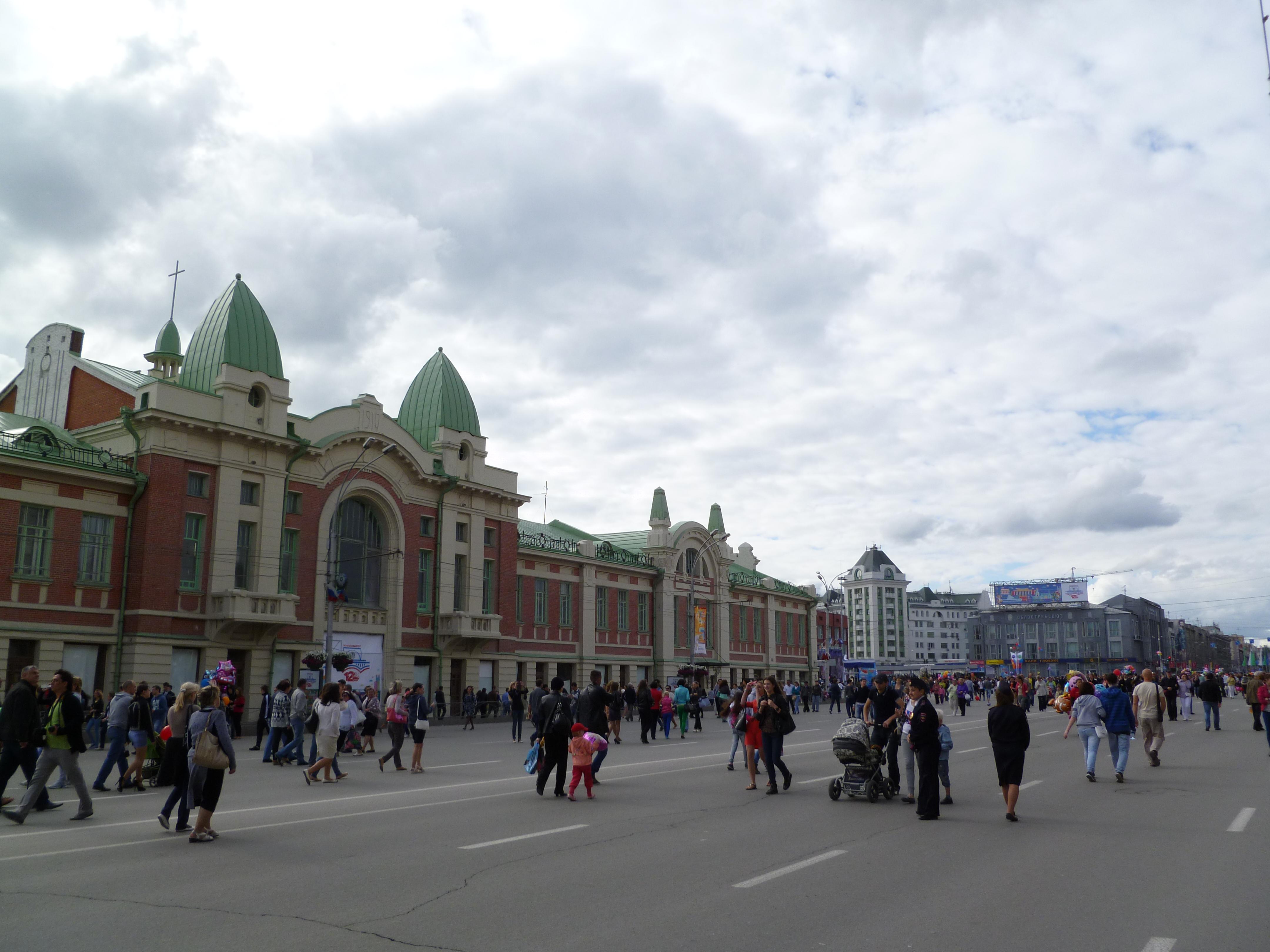 Фото новосибирска летом 2013 2