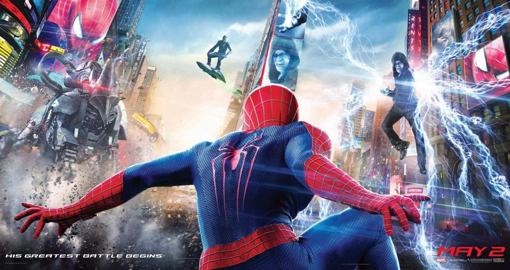 """Трейлер к фильму """"Новый Человек-паук: Высокое напряжение"""" (2014) - смотреть онлайн"""