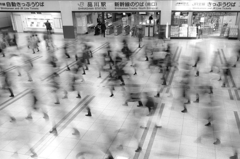 """""""Станция Шинагава, Токио"""". Автор: Питер Франк (Peter Franc)"""