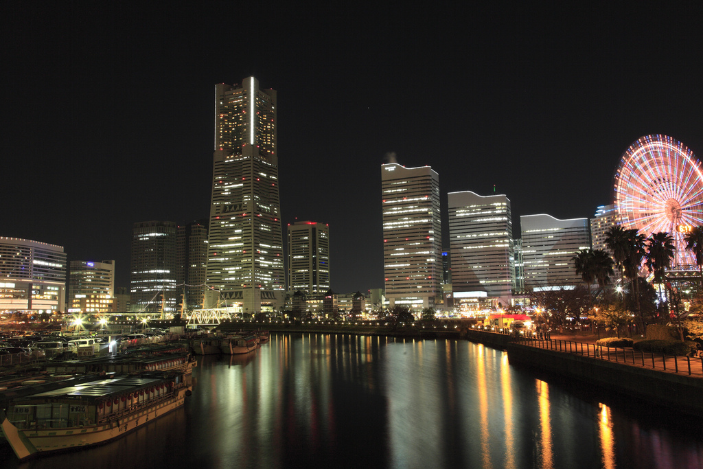 night view in Yokohama #3