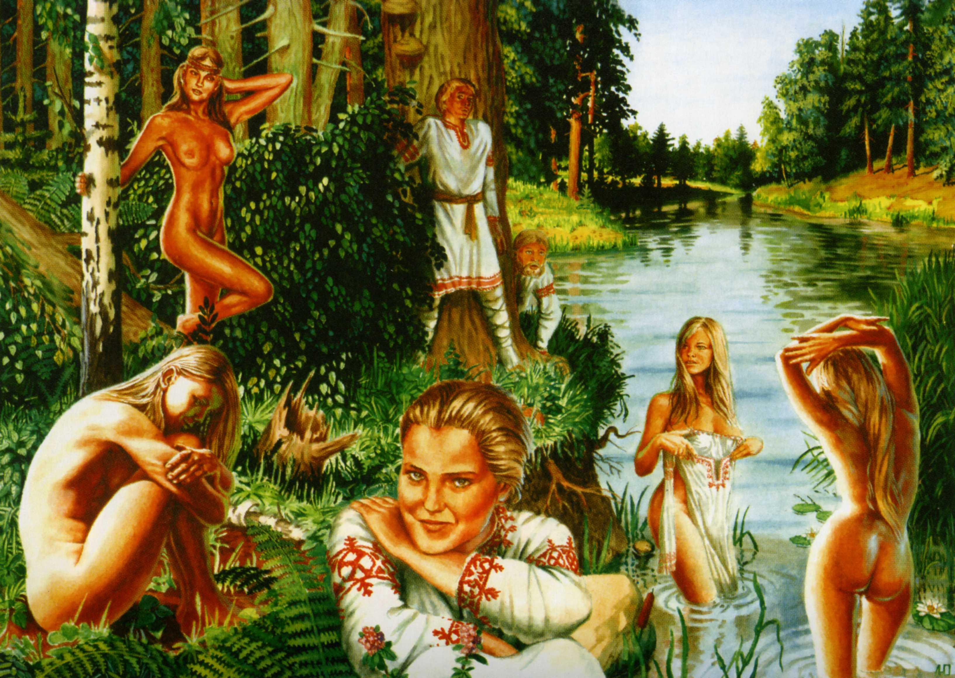 Смотреть порно в древней руси